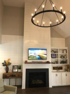 fireplace shiplap